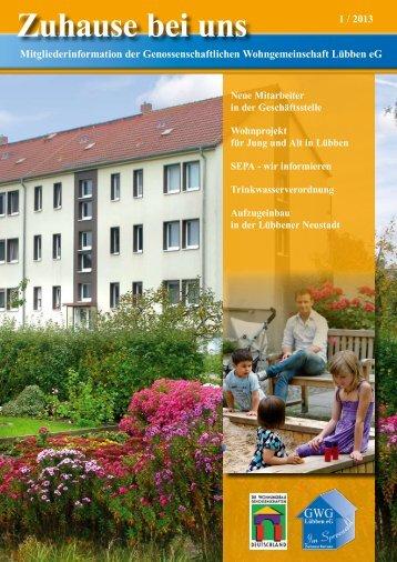 Zuhause bei uns - Gwg-luebben.de