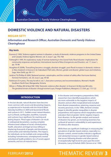 literature review on domestic violence in nigeria Why nigeria's new violence against persons (prohibition) sexual harassment and domestic violence in nigeria the violence against persons (prohibition) act.