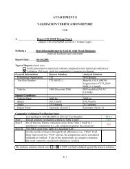 VALIDATION/VERIFICATION REPORT - RoadSafe LLC