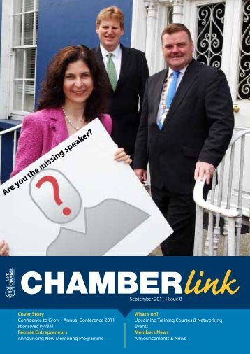 Are you the missing speaker? - Cork Chamber of Commerce