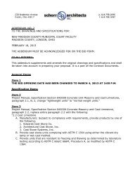 addendum no. 2 to the drawings and specifications for - Setterlin ...