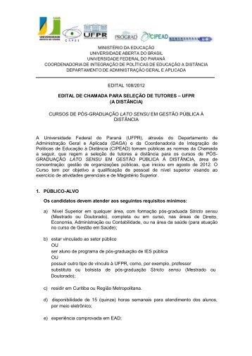 EDITAL 108-2012 DE SELEcaO DE TUTORES.pdf - CIPEAD