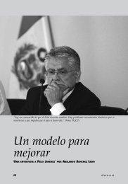 Un modelo para mejorar / Una entrevista a Félix Jiménez - Desco