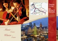 Classical Music on the Rhine - Classic Voyages