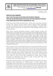 kenyataan akhbar the institution of engineers, malaysia - (Penang ...