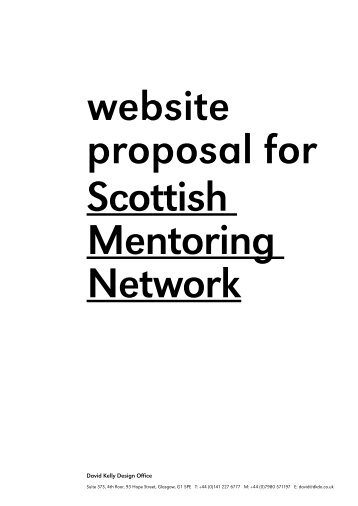David Kelly Design Office - Scottish Mentoring Network