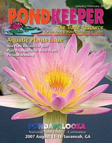 PondKeeper Summer 06 - Pond Trade Magazine