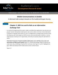 SMS Use and its Role as an Information ... - AudienceScapes