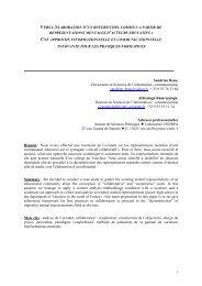 Vers l'élaboration d'un référentiel commun à partir ... - Sciences Po Aix