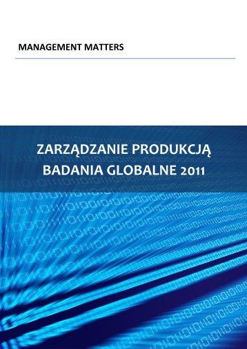ZARZĄDZANIE PRODUKCJĄ BADANIA GLOBALNE 2011 2 - World ...