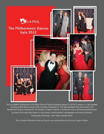 Philharmonic Dances Newsletter 12.18.12.pub - Hollywood Bowl