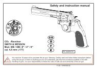F E D Safety and instruction manual