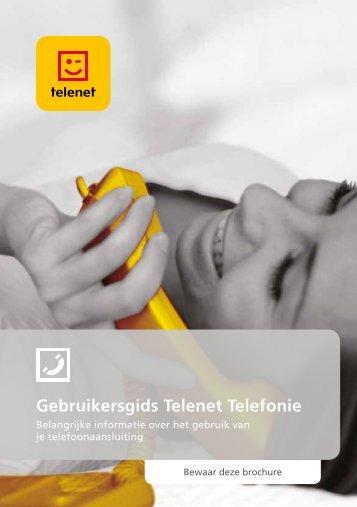 Gebruikersgids Telenet Telefonie - Klantenservice