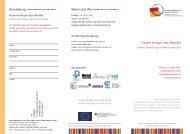 Flyer eu genderaktuell - Marie-Schlei-Verein eV