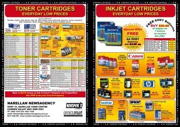 inkjet cartridges toner cartridges - YourNewsagent.com.au