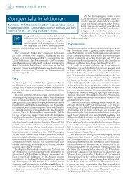 Kongenitale Infektionen - biomed-austria