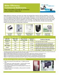 Water Efficiency: Commercial Bathrooms - NC Dept. of Environment ...