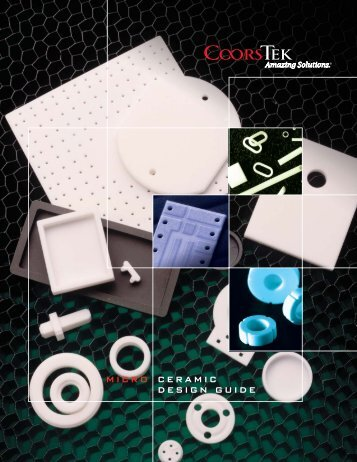 Microelectronic Ceramic Components Design Guide - CoorsTek