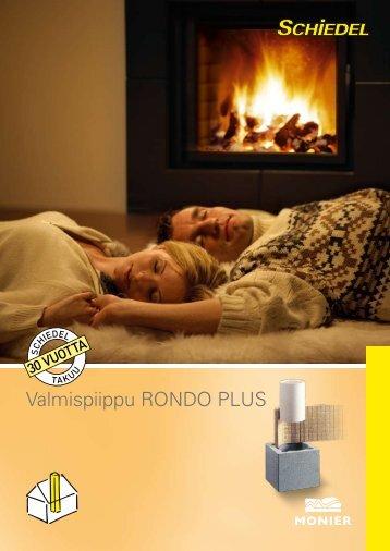 Valmispiippu RONDO PLUS - Taloon.com