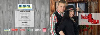 Kontakt und Booking: Promotion: - Adlmann Promotion