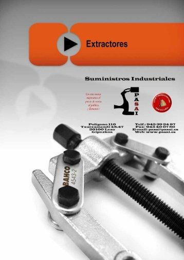 Extractores - PASAI - Suministros industriales
