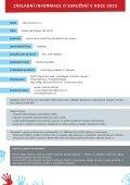 Výroční zpráva 2010 - Děti patří domů os - Page 3