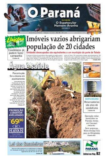 Imóveis vazios abrigariam população de 20 cidades ... - O Paraná