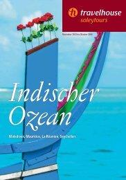 Indischer Ozean - Travelhouse