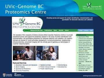 UVic-Genome BC Proteomics Centre