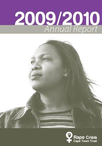 Annual Report 2009/2010 - Rape Crisis