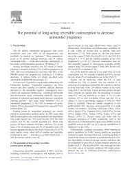 The potential of long-acting reversible contraception to decrease ...