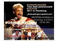 PDF-Download Programm - Europäischer Tag der Jüdischen Kultur