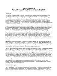 Dual Degree Program - Eller MBA Programs - University of Arizona