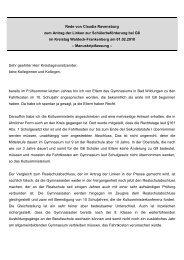 Rede im Kreistag Waldeck-Frankenberg zum Antrag der Linken zur ...