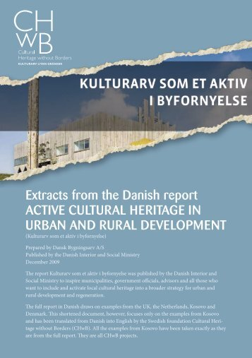 Extracts from Danish report.pdf - Cultural Heritage without Borders