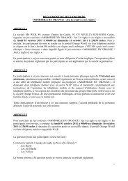 Règlement jeu-concours M6 MOBILE BY ORANGE Jeu Le rugby et ...
