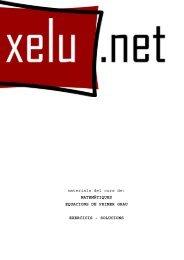 SOLUCIONS - XELU.NET