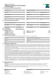 Antragsformular - Stadtwerke Zeitz GmbH