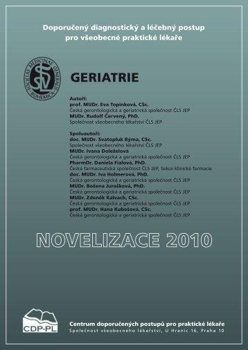 geriatrie - Společnost všeobecného lékařství