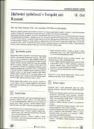Zdaňování společností V Evropské unii - Peterka & Partners