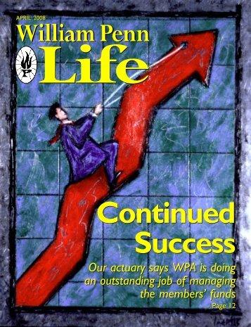 April 2008 - William Penn Life