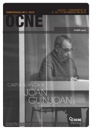 C 16 Programa - Orquesta y Coro Nacionales de España