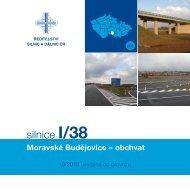 Silnice I/38: Moravské Budějovice obchvat - Ředitelství silnic a dálnic