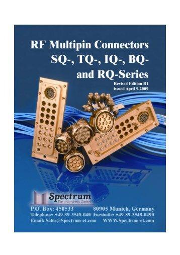 Download or view the Catalog - Spectrum Elektrotechnik GmbH