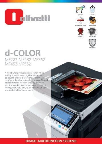Olivetti d-Color MF362