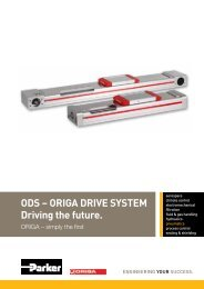 ODS – ORIGA DRIVE SYSTEM Driving the future.