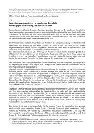 Protest gegen Ausweisung von Arbeitskräften - Borderline Europe