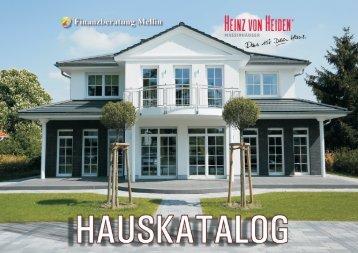 Hauskatalog - Heinz von Heiden Massivhäuser