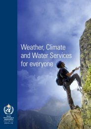 Weather, Climate and Water Services for everyone - E-Library - WMO