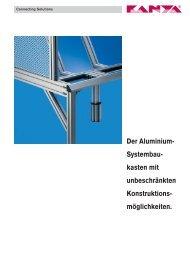 Firmenbroschüre - Kanya AG
